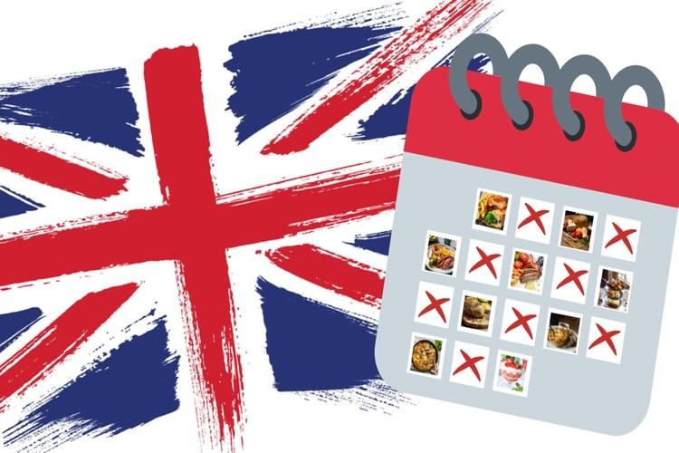 National Food Day Calendar 2022.British Food Calendar 2021 Uk National Food Days Weeks And Months British Grub Hub