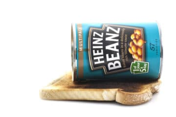 Heinz Baked Be ans on toast